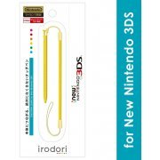 Touch Pen Leash for New 3DS (Yellow) (Japan)