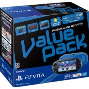 PlayStation Vita Value Pack Wi-Fi Model (Blue Black) (Japan)