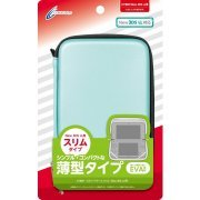 Semi Hard Case Slim for New 3DS LL (Mint Green) (Japan)