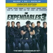 The Expendables 3 (Unrated Edition) [Blu-ray+DVD+Digital HD] (US)