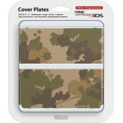 New Nintendo 3DS Cover Plates No.044 (Mario Camouflage Green) (Japan)