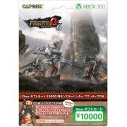 Xbox Gift card 10000 Point [Monster Hunter Frontier G6 Version] (Japan)