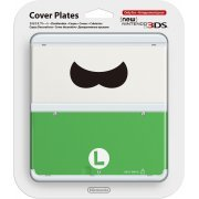 New Nintendo 3DS Cover Plates No.048 (Luigi Mustache) (Japan)