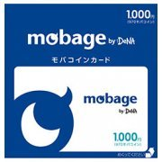 Mobage Prepaid Card (1000 Yen) (Japan)