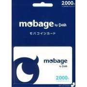 Mobage Prepaid Card (2000 Yen) (Japan)