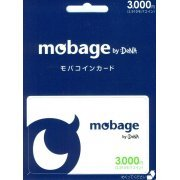 Mobage Prepaid Card (3000 Yen) (Japan)