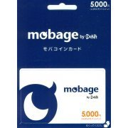 Mobage Prepaid Card (5000 Yen) (Japan)
