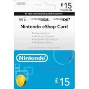Nintendo eShop 15 GBP Card UK (UK)