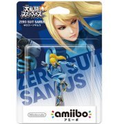 amiibo Super Smash Bros. Series Figure (Zero Suit Samus) (Japan)