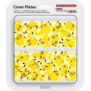 New Nintendo 3DS Cover Plates No.057 (Pikachu) (Re-run) (Japan)