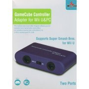 GameCube Controller Adapter for Wii U & PC with Two Ports
