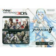 New Nintendo 3DS Fire Emblem if Cover Plates Pack (Black) (Japan)