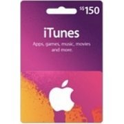 iTunes Card (SGD$ 150 / for Singapore accounts only) (Singapore)