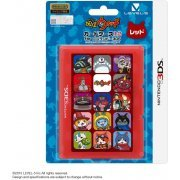 Youkai Watch Card Case 12 for 3DS (Red) (Japan)