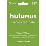 Hulu 3-month Subscription Gift Card (USD 23.97) (US)
