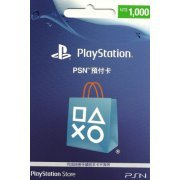 PlayStation Network 1000 NTD PSN CARD TW (Taiwan)