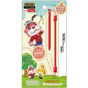 Touch Pen Leash Collection for New 3DS (Animal Crossing Type A) (Japan)