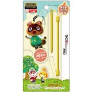 Touch Pen Leash Collection for New 3DS (Animal Crossing Type C) (Japan)