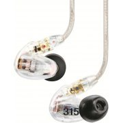 Shure SE315 Sound Isolating Earphones (Clear) (Japan)