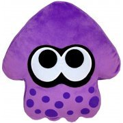 Splatoon Plush: Purple Splatoon Squid Cushion (Re-run) (Japan)