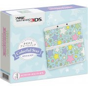 New Nintendo 3DS Cover Plates Pack (Colorful Star) (Japan)