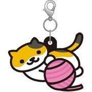 Neko Atsume Rubber Strap Ver. 2: Mike-san / Keitodama (Japan)