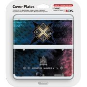 New Nintendo 3DS Cover Plates No.065 (Monster Hunter X) (Japan)