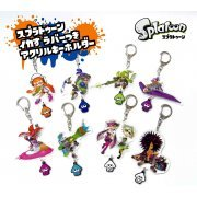 Splatoon Acrylic Key Chain with Squid Rubber Vol. 1 (Set of 8 pieces) (Japan)