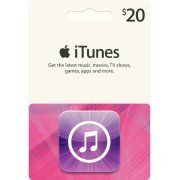 iTunes Card (US$ 20 / for US accounts only) (US)