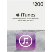 iTunes Card (USD 200 / for US accounts only) Digital digital (US)