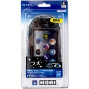 New Protection Frame for Playstation Vita Slim (Clear Glitter) (Japan)