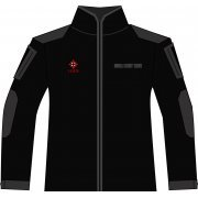 BIOHAZARD 20th BDU Long Sleeve Shirt and Pants Black M Size: Umbrella (Japan)