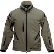 Biohazard BSAA Soft Shell Jacket Khaki (S Size) (Japan)