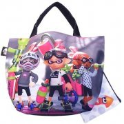 Splatoon Ikasu Lunch Tote Bag with Pouch [Boy] (Japan)