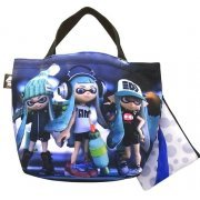 Splatoon Ikasu Lunch Tote Bag with Pouch [Girl] (Japan)