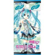 Hatsune Miku Clear Card Collection Gum 2 [First Release Limited Edition] (Set of 16 pieces) (Japan)
