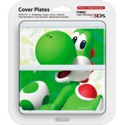 New Nintendo 3DS Cover Plates No.070 (3D Yoshi) (Japan)