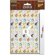Pokemon Soft Pouch for New 3DS LL (Eievui Party) (Japan)