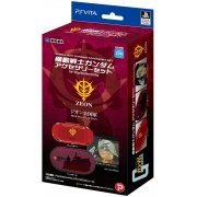 Mobile Suit Gundam Accessory Set for PlayStation Vita (Zeon) (Japan)