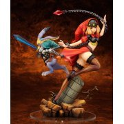 Odin Sphere 1/8 Scale Pre-Painted PVC Figure: Velvet with Cornelius (Japan)