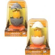 Gudetama Gudegude Wobbly Solar Toy (White Egg) (Japan)