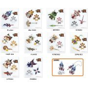 Monster Hunter X Acrylic Mascot Collection (Set of 10 pieces) (Japan)