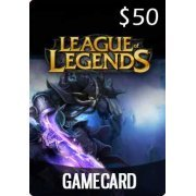 League of Legends Game Card (US$ 50) (Region Free)