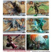 Monster Hunter X Clear Card Collection Gum 2 [First Release Limited Edition] (Set of 16 pieces) (Japan)