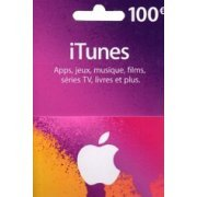 iTunes Card (EUR 100 / for FR accounts only) digital (Europe)