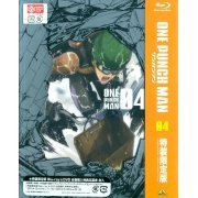 One Punch Man Vol.4 [Blu-ray+CD Limited Edition] (Japan)