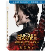 The Hunger Games Complete 4-Film Collection [Blu-ray+Digital HD] (US)
