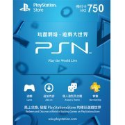 PlayStation Network 750 HKD PSN CARD HK (Hong Kong)