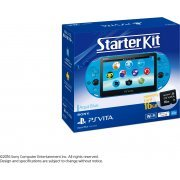 PlayStation Vita Starter Kit (Aqua Blue) (Japan)