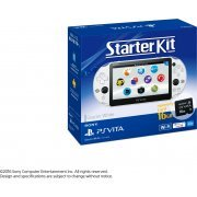 PlayStation Vita Starter Kit (Glacier White) (Japan)